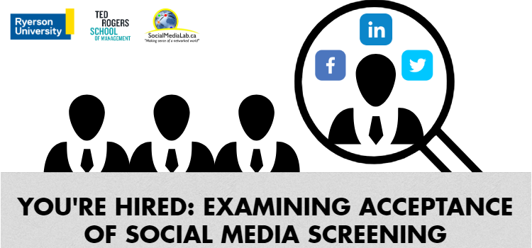 [New Paper] You're Hired: Examining Acceptance Of Social Media Screening Of Job Applicants