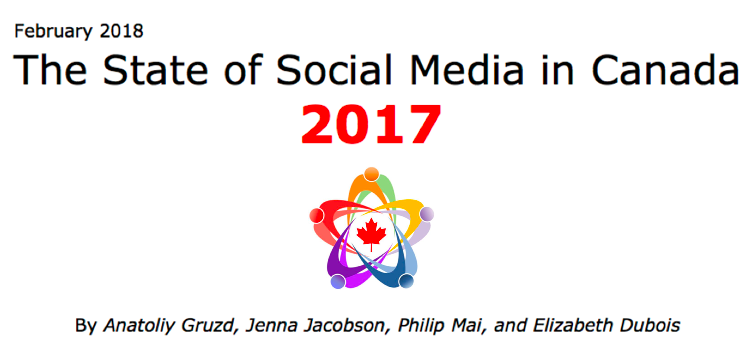 The State of Social Media in Canada 2017: New Report