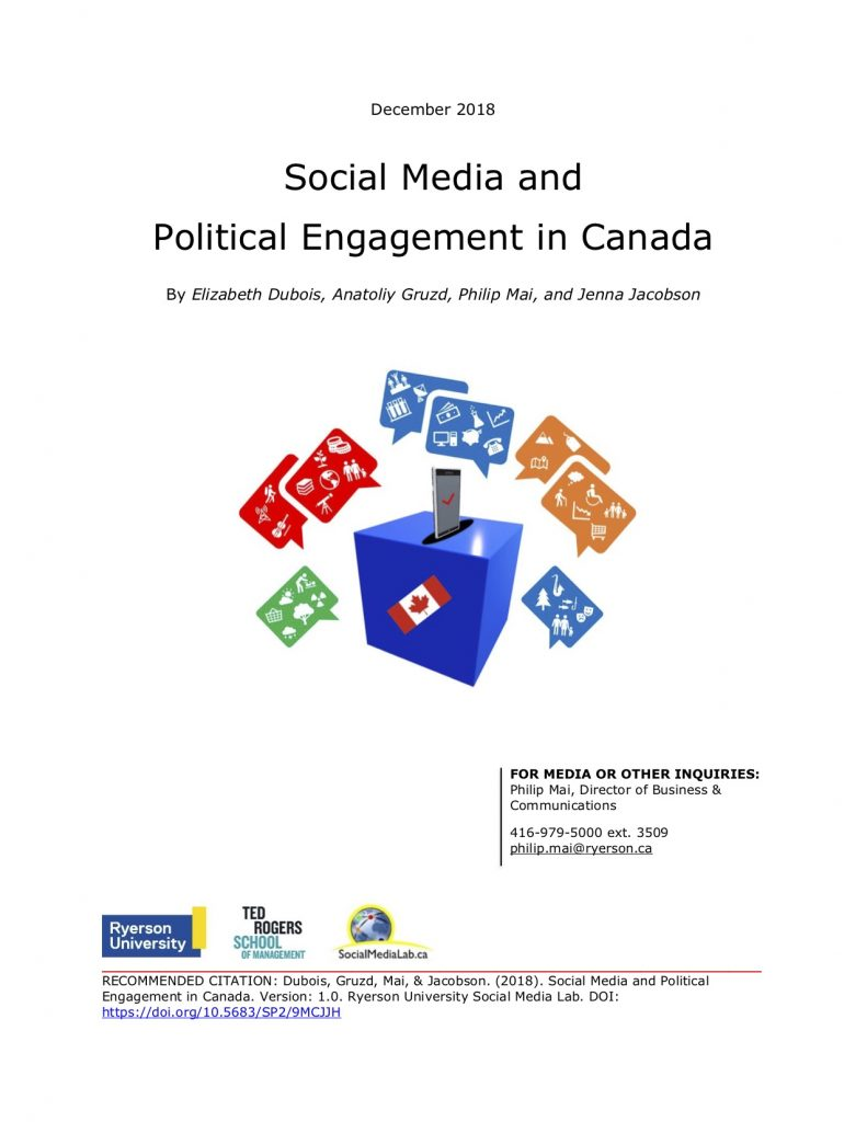 Study: Majority of social media users in Canada avoid talking politics online for fear it might upset another person