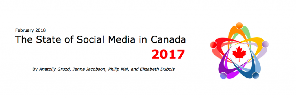 The State of Social Media in Canada 2017