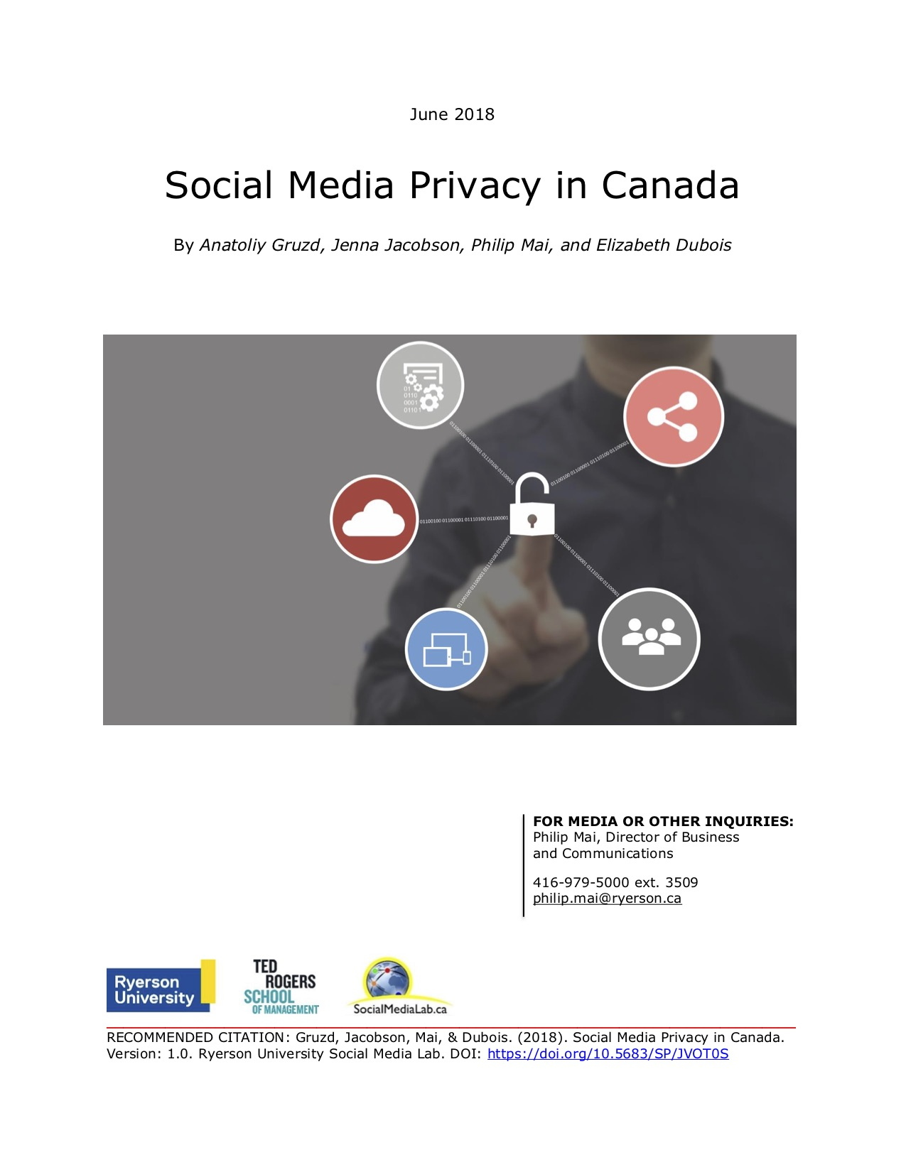 Social Media Privacy in Canada