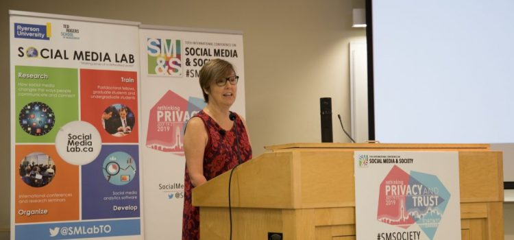 ICYMI: #SMSociety 2019 Keynote by Valerie Steeves